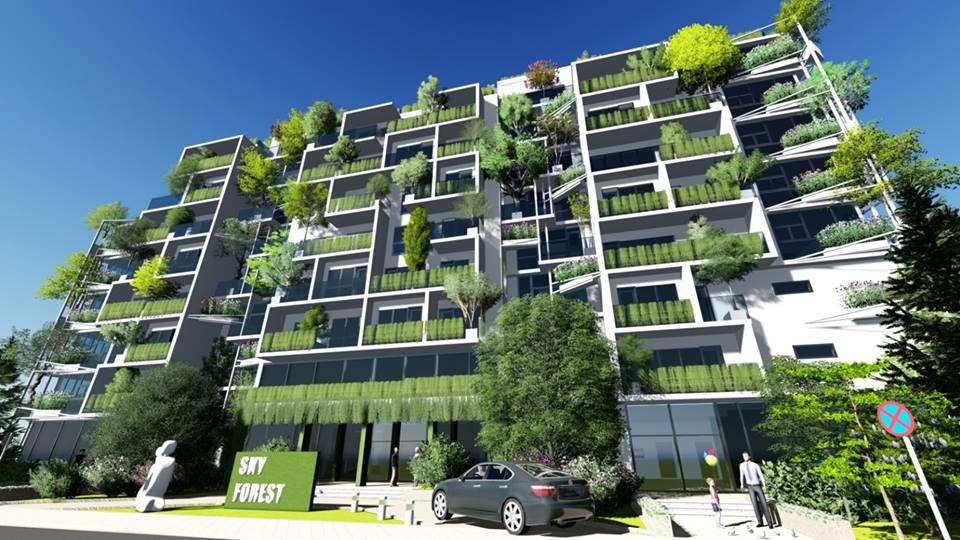 Първата зелена сграда на София SKY FOREST RESIDENS