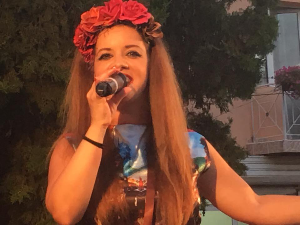 Елица Тодорова на концерта за Деня на град Земен