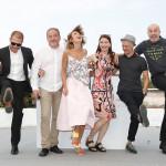 "Екипът на ""Посоки"" позира на фестивала в Кан/снимка: E Piermont."