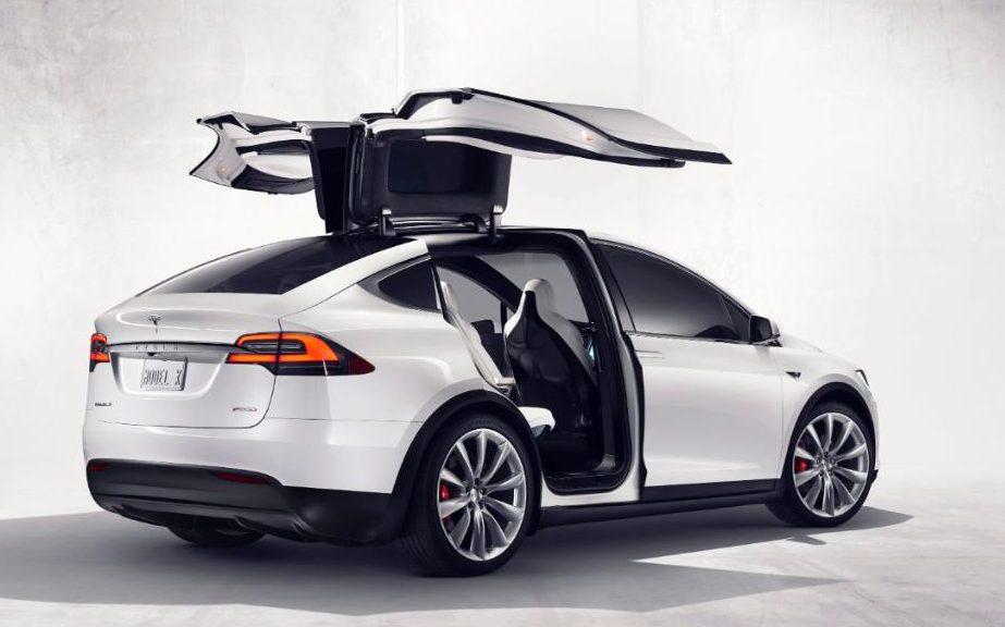 Model X нa Tesla
