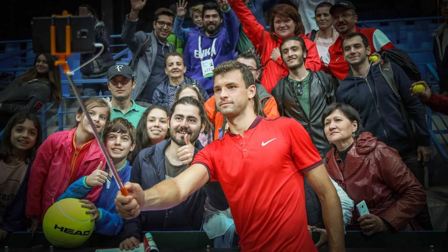 Григор все повече заприличва на Курникова - от голямата надежда просто до секссимвола на световния тенис.