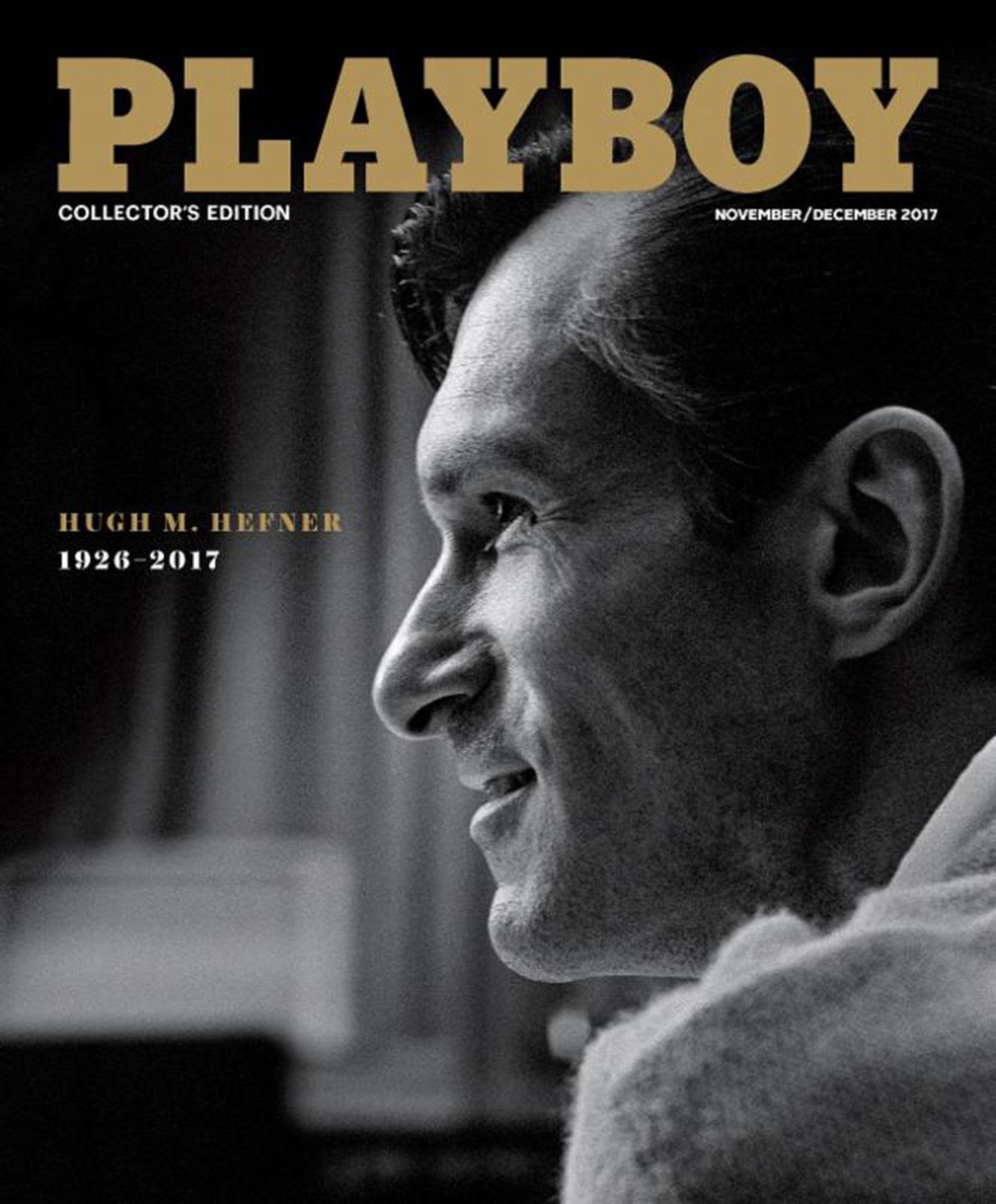 Първият брой на Playboy след смъртта на Хефнър е изцяло в негова памет.