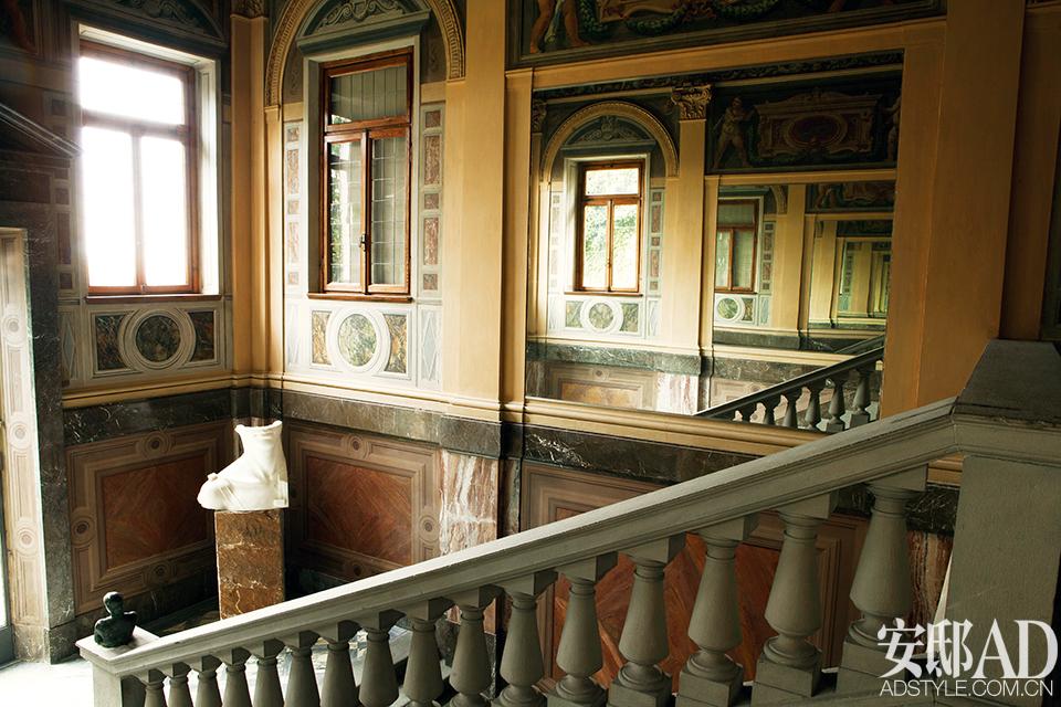 Фамилното имение на Трусарди в Тоскана