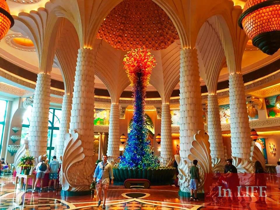 Фоайето на Атлантис, Дубай