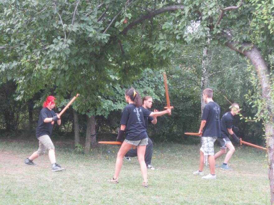 средновековен лагер