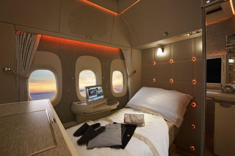 Новите апартаменти във Фърст класата на Emirates