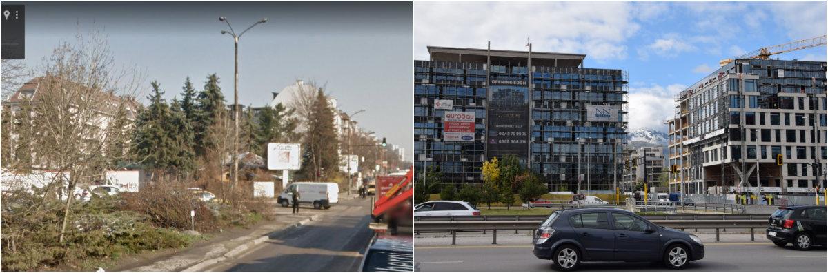 """""""Хладилника"""" - разликите между 2012 и 2017 г. - малко кътче от един от най-променените райони на София"""