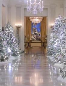 Коледен бял дом