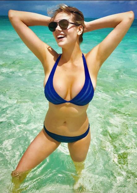 Кейт Ъптън – модел