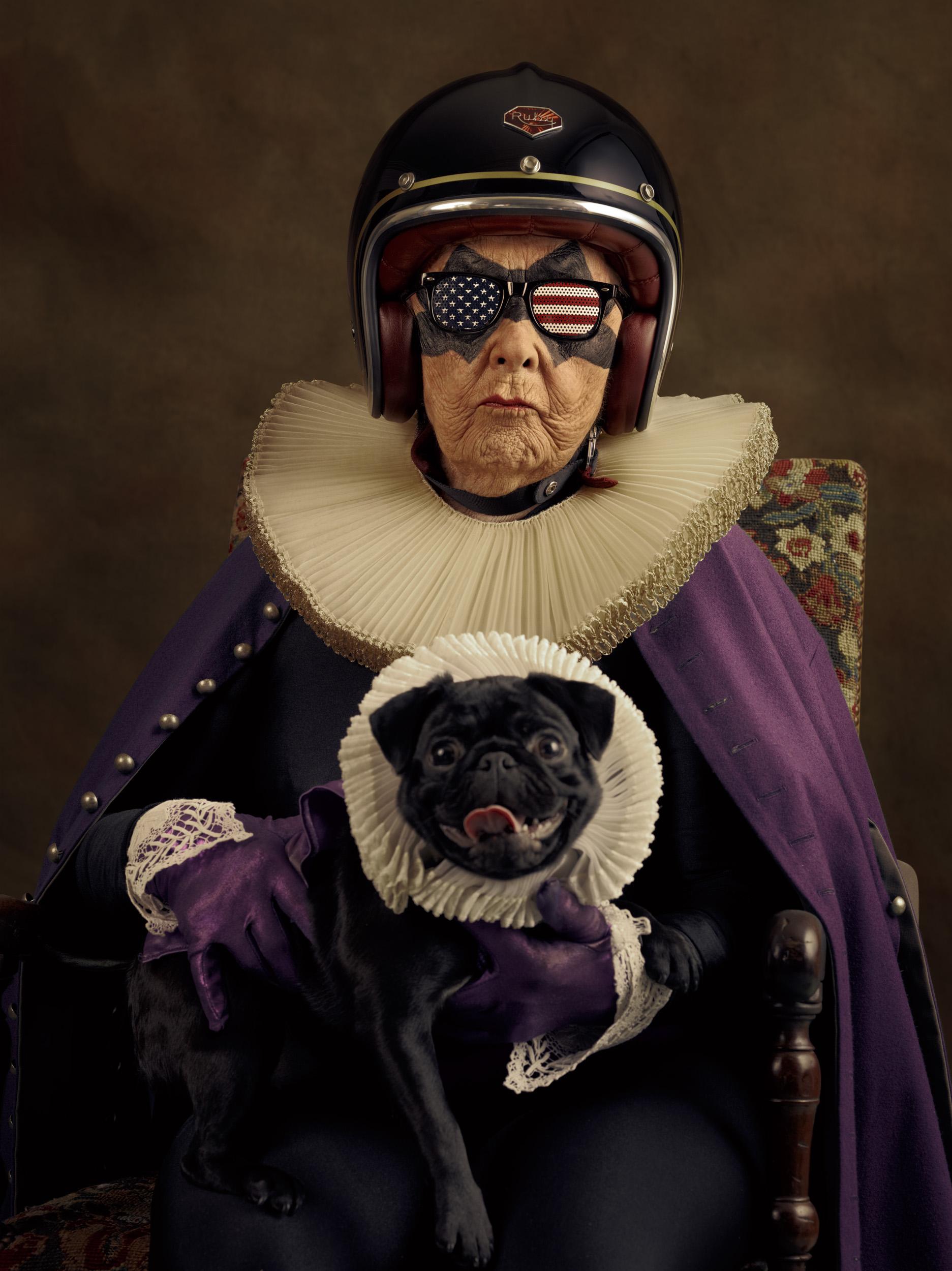"""Фотография на Мамика от серията """"Super Flemish"""" Снимка: sachagoldberger.com"""