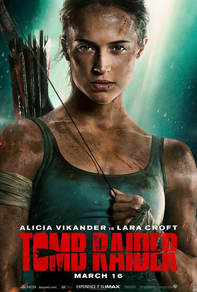 """Плакатът на филма """"Tomb Raider: Първа мисия"""""""