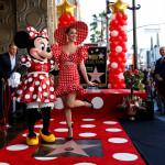 Мини Маус получи звезда на Алеята на славата с малко помощ от Кейти Пери