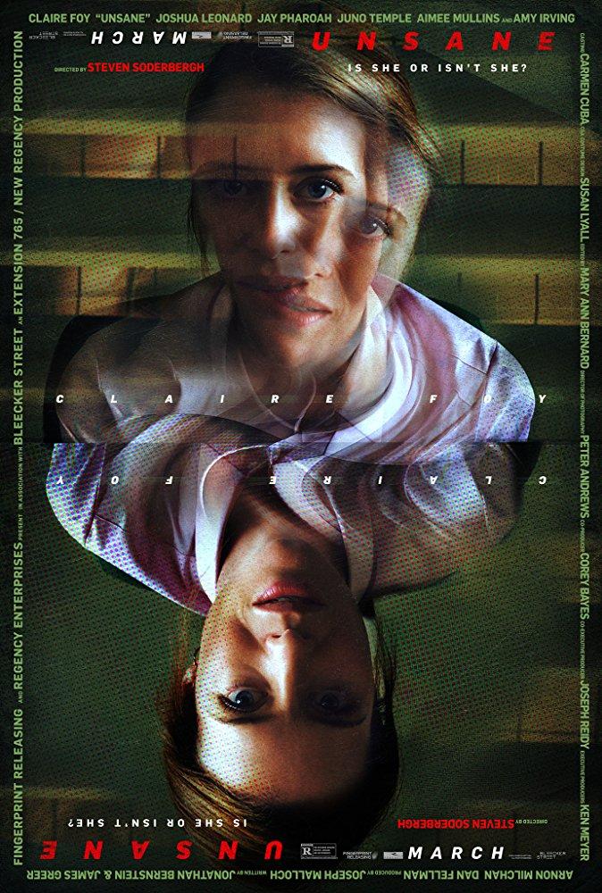 """Плакатът на филма """"Unsane"""""""