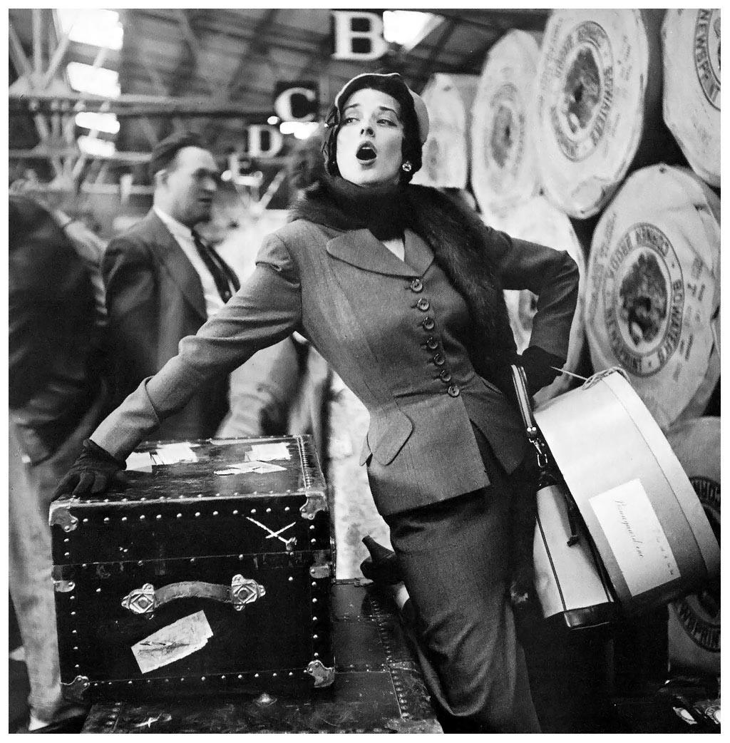 "Снимка за ""Harper's Bazaar"", 1949 г."