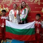 Ани Станева и Йоана Русева, Китай