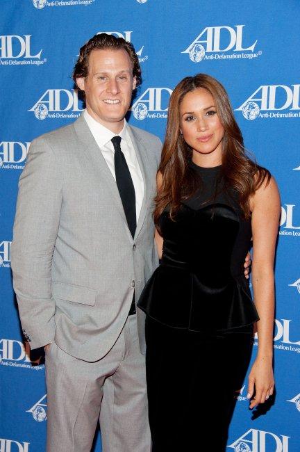Тревър Енгелсон и Меган Маркъл Снимка: Getty Images