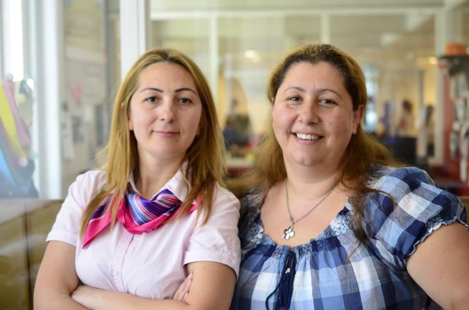 Елица Йорданова и Камелия Стефанова (отдясно наляво), Снимка: Facebook