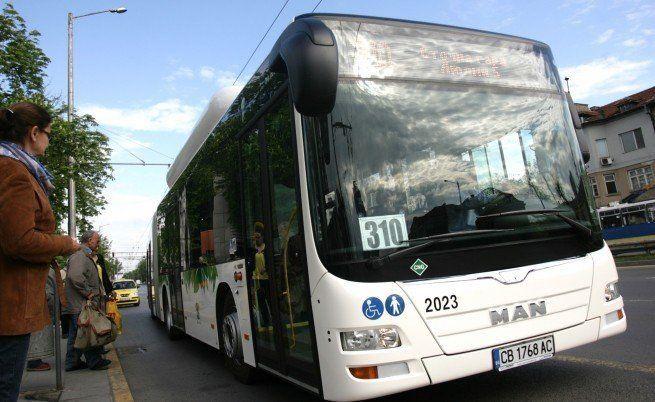 градският транспорт