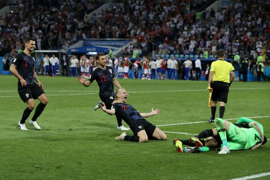 Хърватия победи Русия