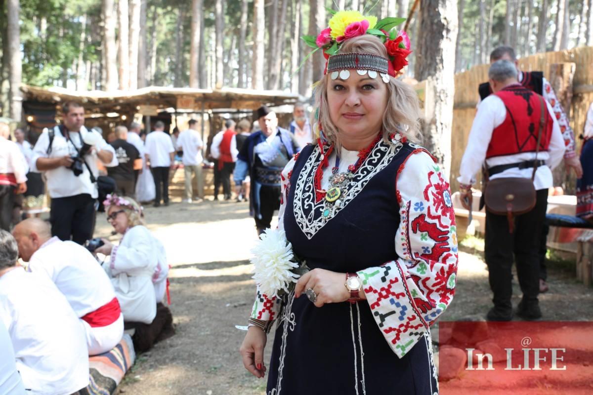 Весела Барбукова на Жеравна 2018