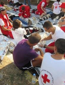 хуманитарните дейности, БЧК