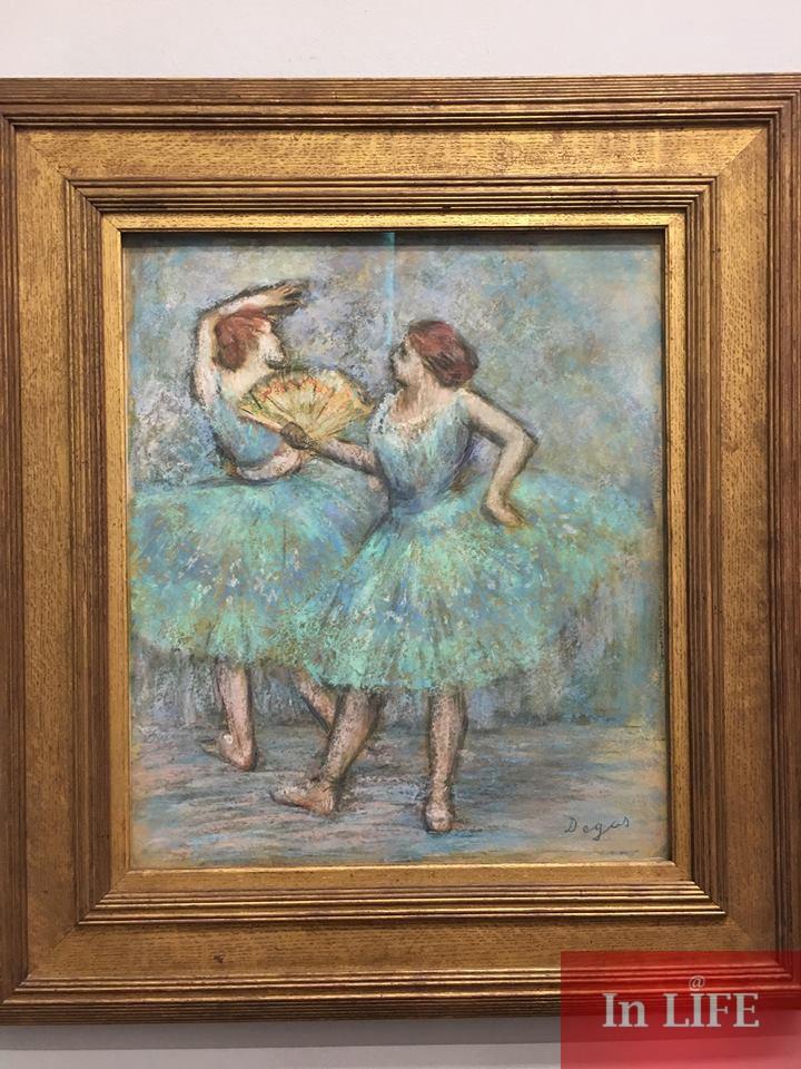 Балерини, Дега, Албертина, Виена