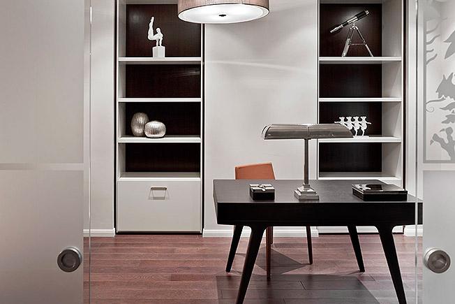 Проект на Александър Ерман на жилище в Арбат Снимка: interior.ru