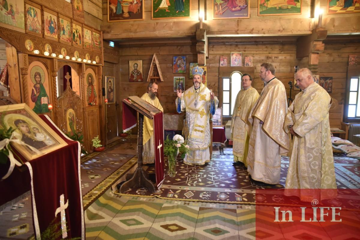 Света литургия за основаването на Българска църковна община в Женева