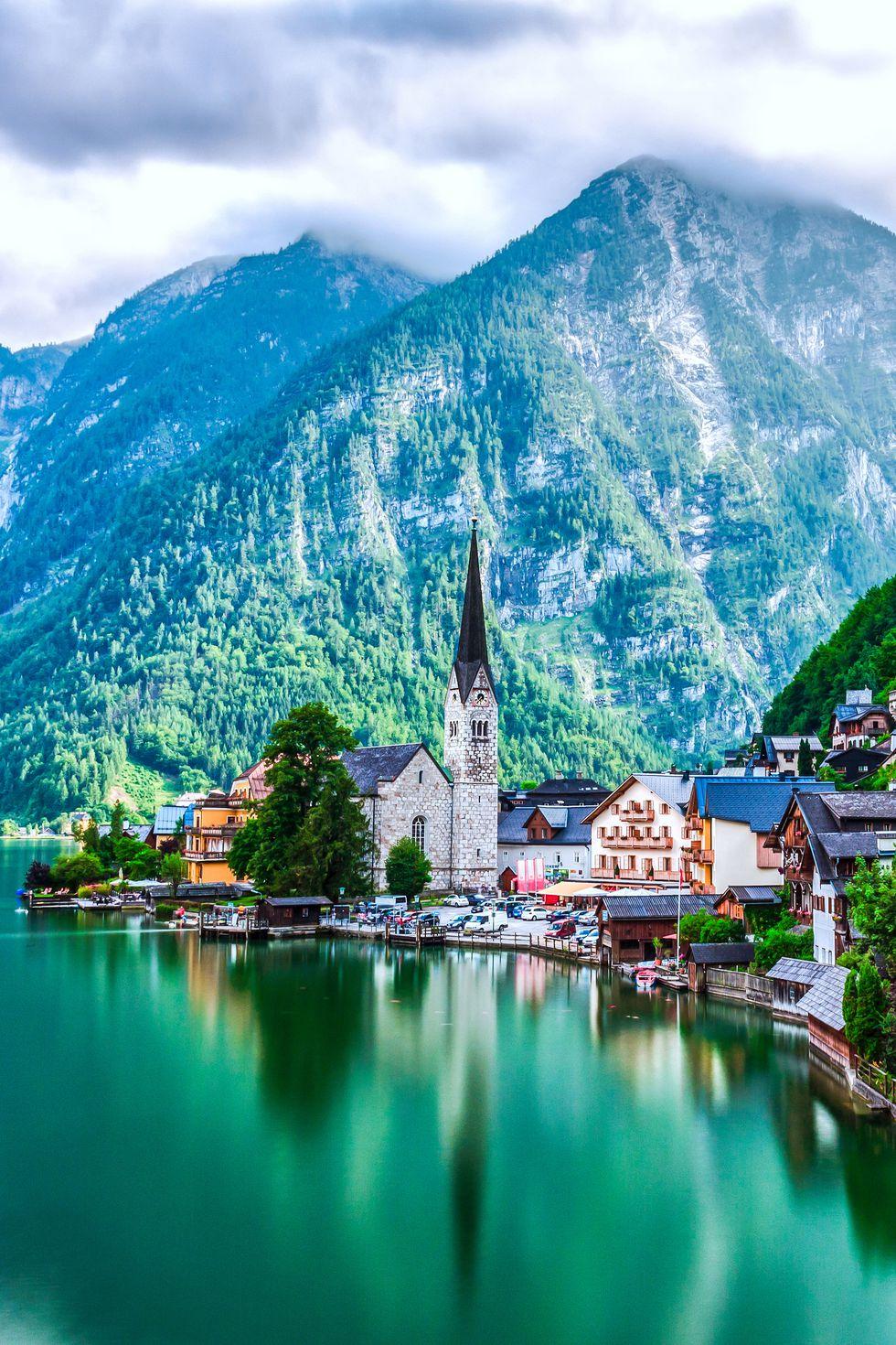Халщадт, Австрия