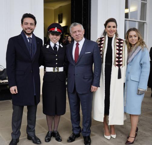 Кралското семейство на Йордания Снимка: instagram/queenrania