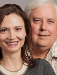 Клайв Палмър и Ана Топалова