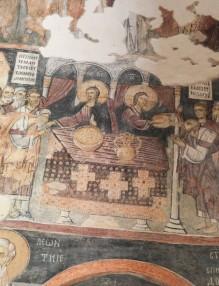 стенопис от Земенския манастир