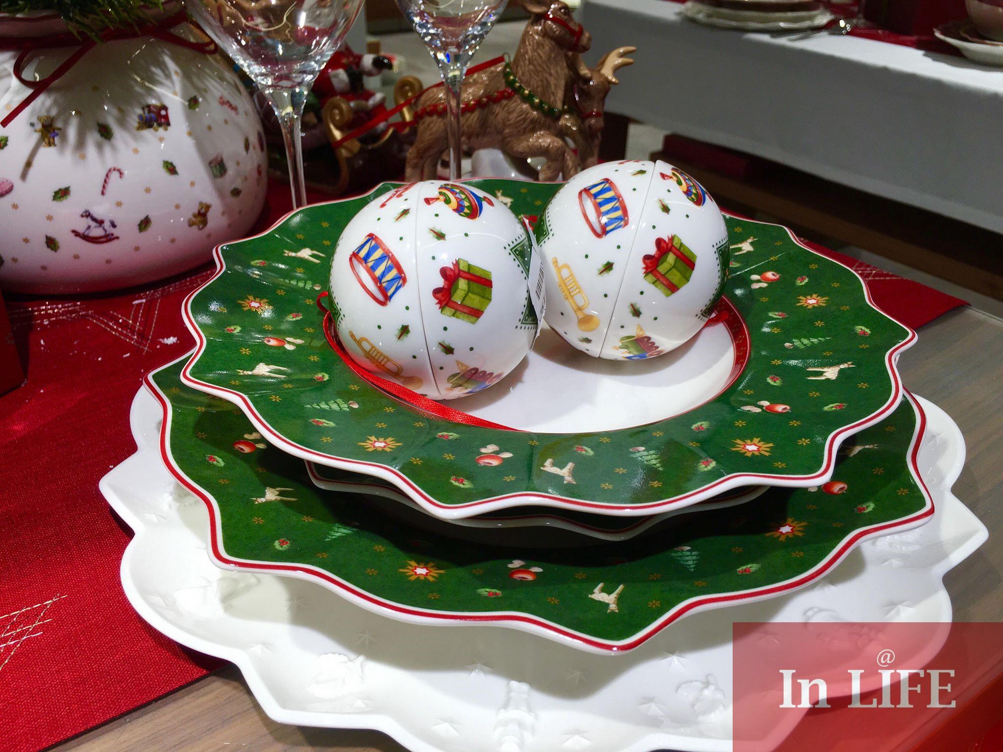 Коледната маса на Villeroy & Boch