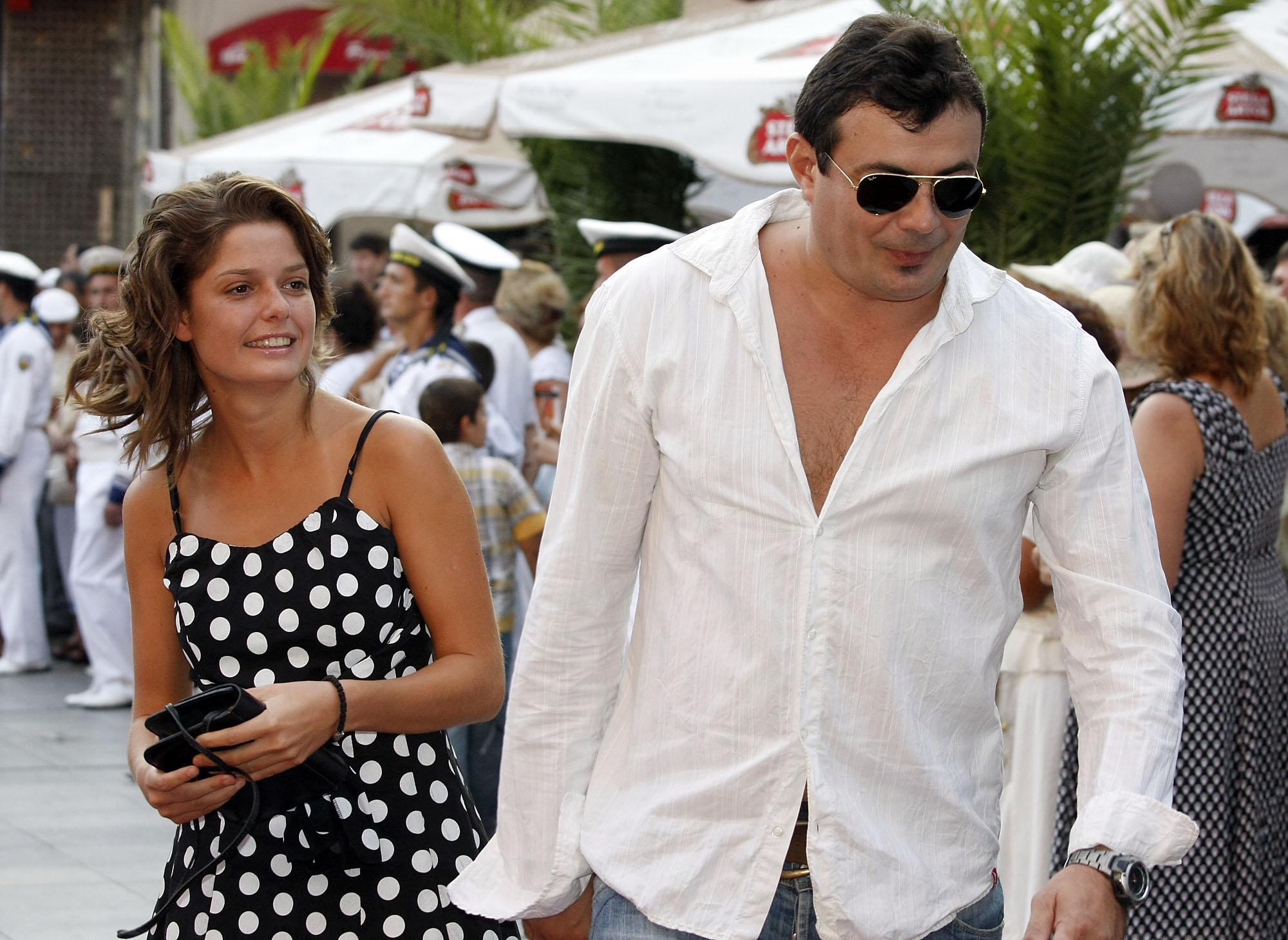 Иван Ласкин със съпругата си Алекс Сърчаджиева.