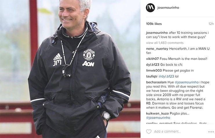 jose-mourinho-instagram