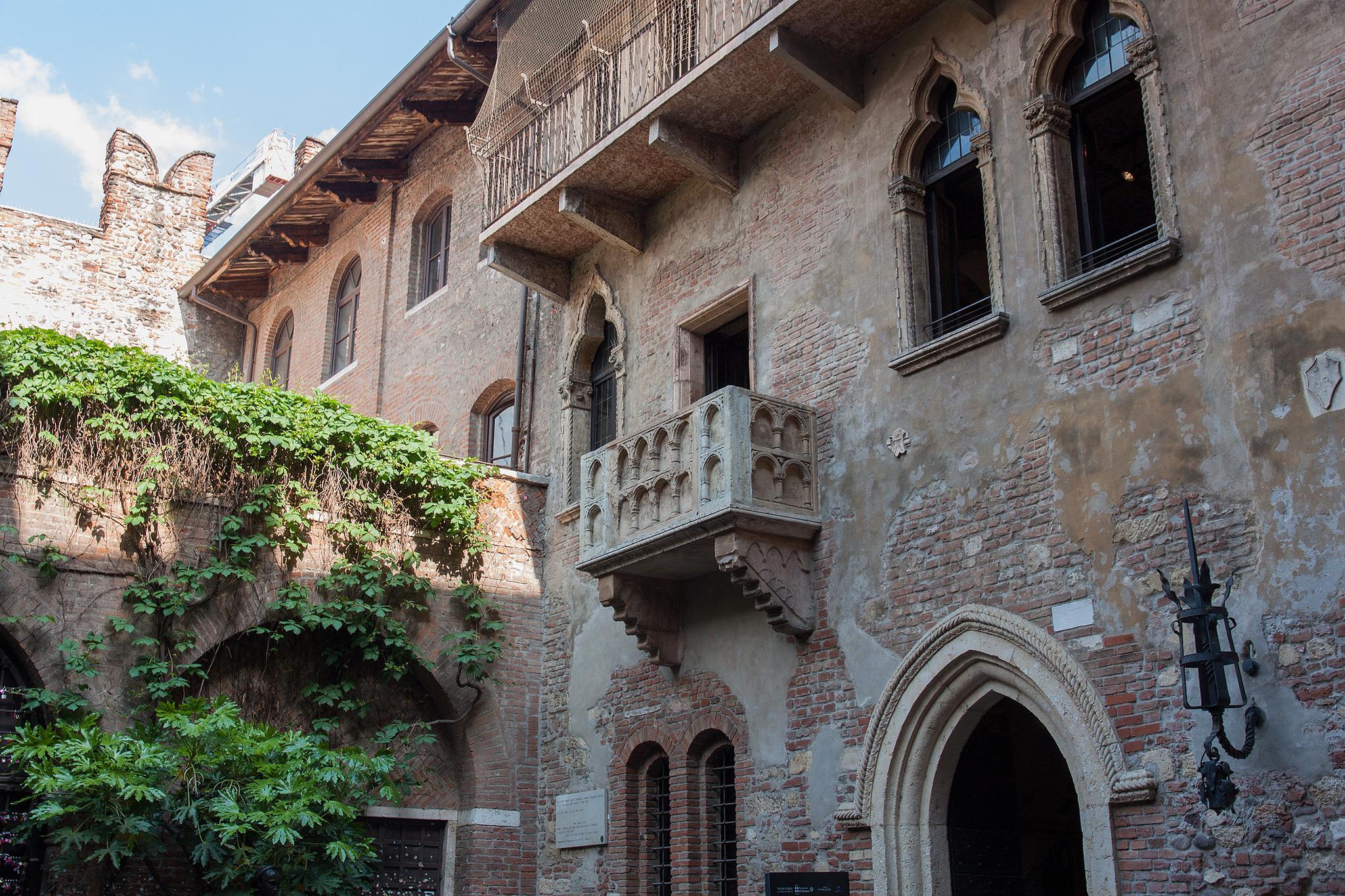 Домът на Жулиета във Верона
