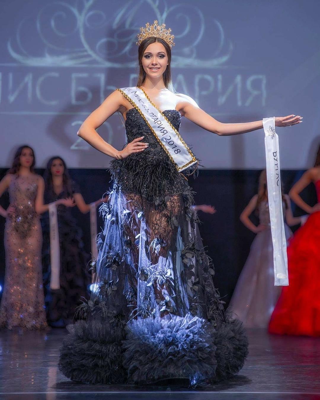 Мис България 2018 Теодора Мудева