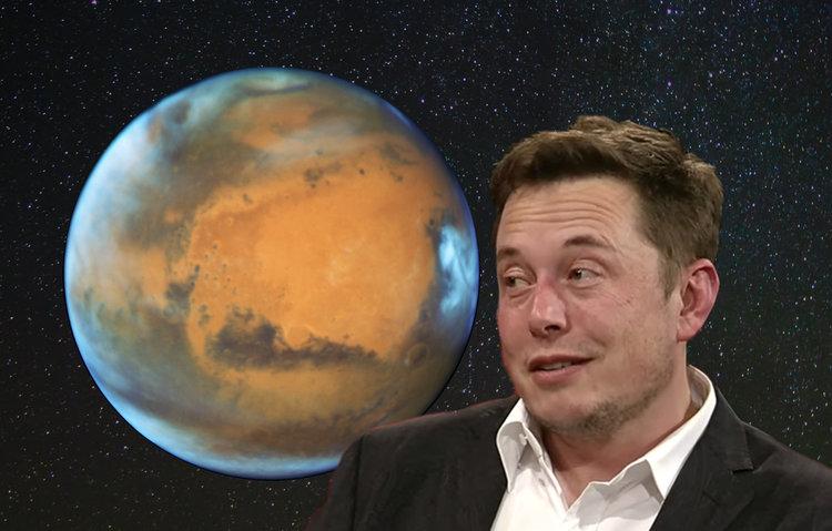 Илон Мъск - Марс