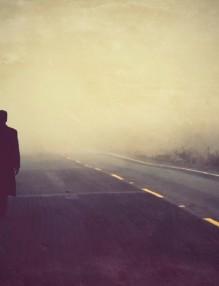 walking-on-road-in-the-dark