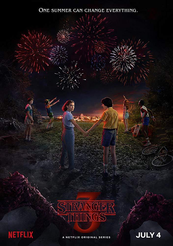 """Плакат на сериала """"Странни неща""""/IMDb"""