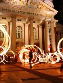Часът на Земята - Огнено шоу