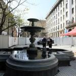 Фонтанът на площад Славейков