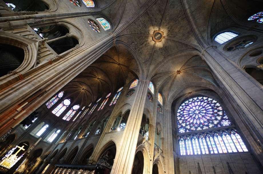 Нотр Дам дьо Пари - катедралата в Париж