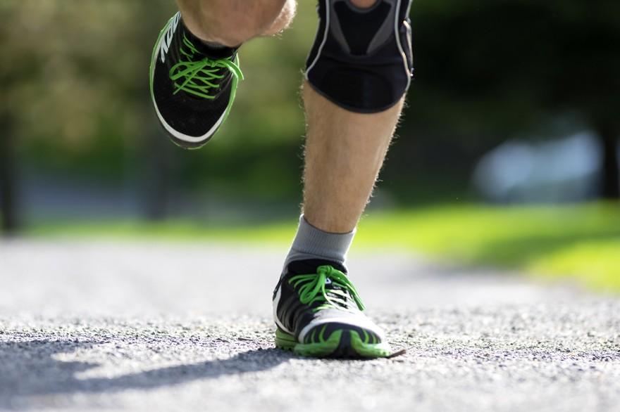 Бягащ спортист