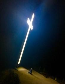 Освещаване на Светия Кръст над Земен на 11.11.2017 година