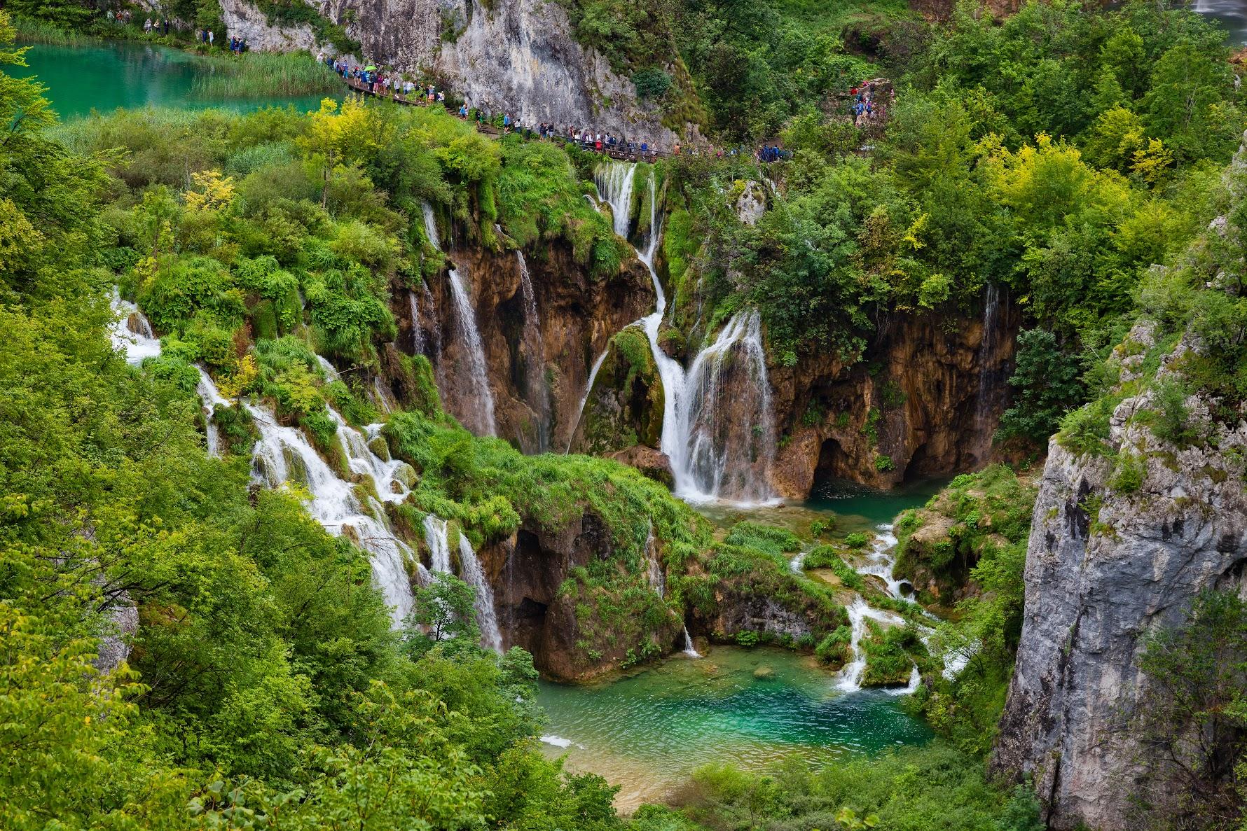 Парк Плитвички езера, Хърватия