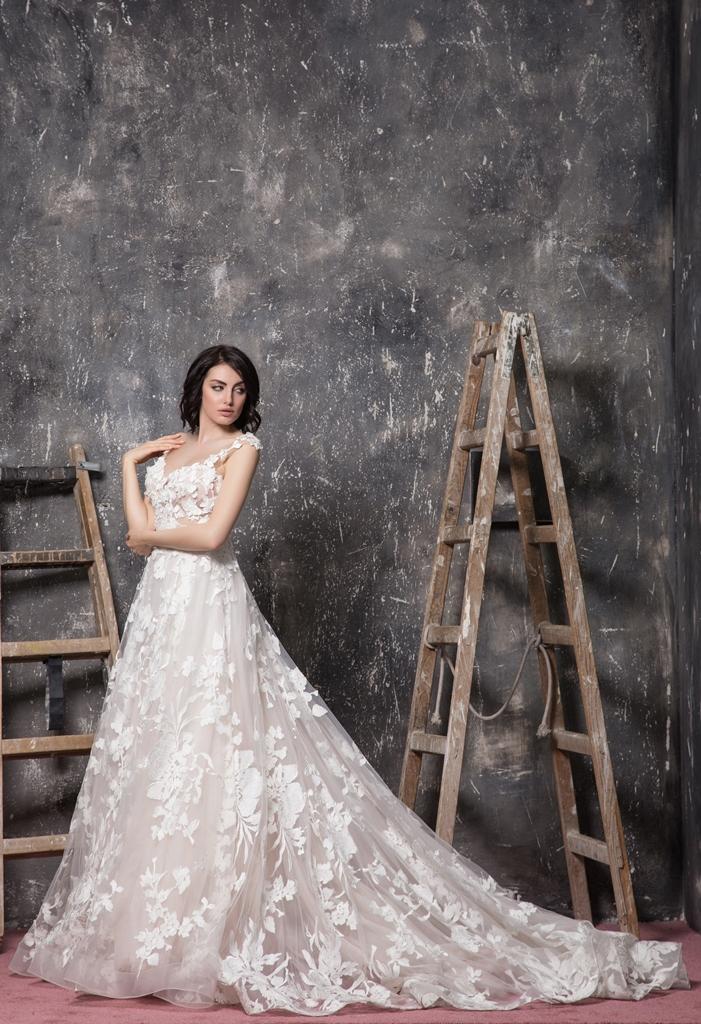 Христо Чучев сватбена рокля - Мис България Марина Войкова