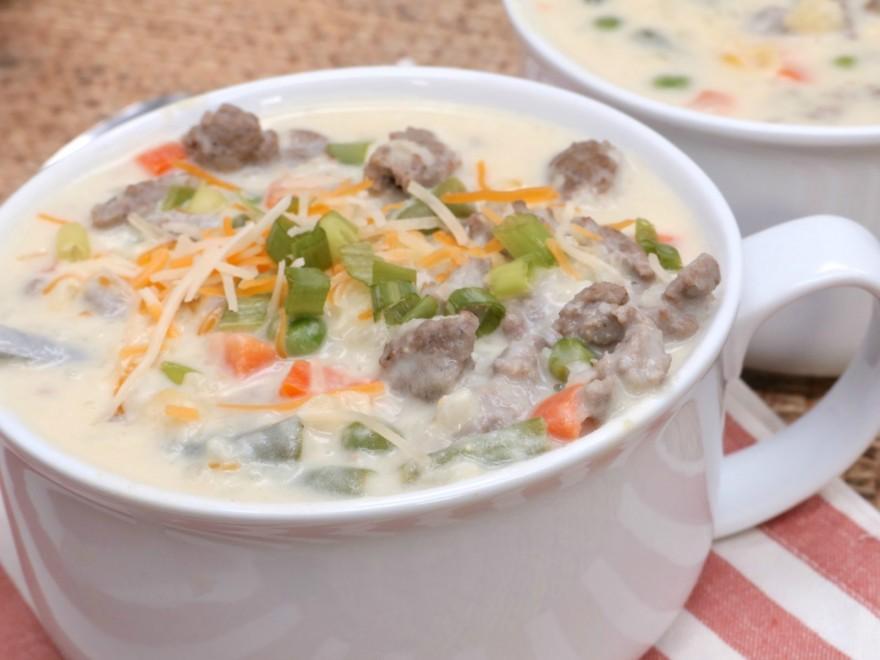 cream-sausage-vegetable-potato-soup