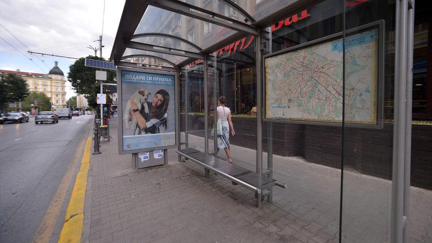 Спирка градски транспорт