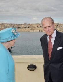 Елизабет-II-принц-Филип-Малта